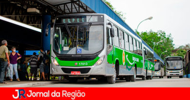 Novo ônibus Campo Limpo Paulista. (Foto: Divulgação)