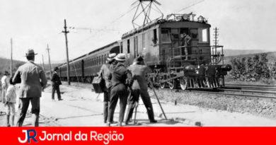 Trem elétrico Louveira. (Foto: Divulgação)