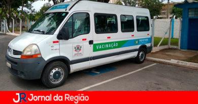 Vacinação itinerante em Campo Limpo Paulista. (Foto: Divulgação)